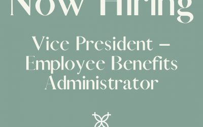 UBTMN Now Hiring Vice President–Employee Benefits Administrator
